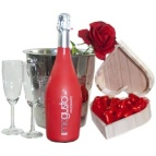 prosecco rood koeler roos